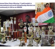 Winning 17 Gold medals (1)